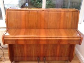 ZENDER COMPACT UPRIGHT PIANO LOCAL DELIVERY MAY BE POSSIBLE