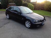 03 BMW COMPACT BLACK 1.8 PETROL