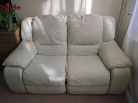 Sofa. 2 seater recliner.