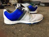 FootJoy Energize White/Electric Blue Size 11