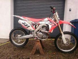 2013 CRF 450 R