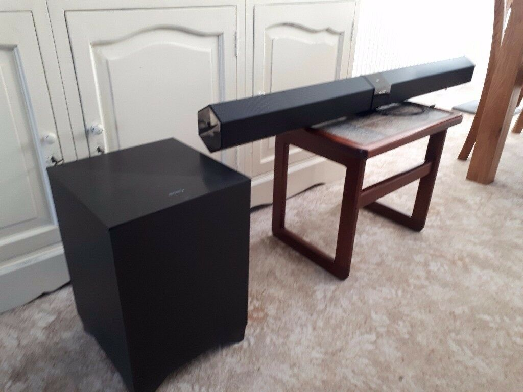 Sony Home Theatre Soundbar and Wireless Subwoofer
