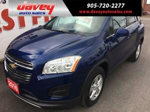 2016 Chevrolet Trax LT REMOTE STARTER, ALL WHEEL DRIVE,