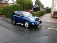 Toyota RAV 4 ngr in stunning blue vvti ,first to view will buy ,px welcome