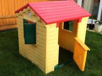 Children's Plastic Play House. SOLD.