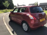 Suzuki swift 2012 1.2L car on low mileage
