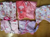 Pyjamas fille 3 mois