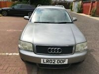 2002 Audi A6 AVANT 2.5 TDI SE 5dr (CVT) 2.5L Automatic @07445775115 6 Months Warranty Included
