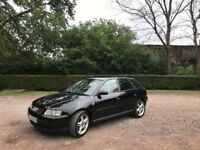 AUDI A3 1.9 TDI 130 BHP 6 SPEED 5 DOOR 12 MONTHS MOT NEW CLUTCH TIMING BELT REPLACED LADY OWNER