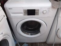 BEKO ECO 8KG WASHING MACHINE IN GOOD CLEAN WORKING ORDER 3 MONTH WARRANTY AND PAT TESTED