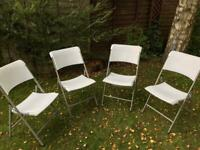 Foldable chairs