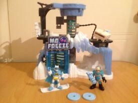 Imaginext Batman Mr Freeze Headquarters Playset