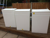 concealed cistern units x 3 white gloss new unused H 810 X W 550 X D310