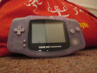 Nintendo gameboy advance with 1 game