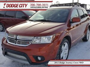 2012 Dodge Journey Crew   FWD   PST Paid - Heated Seats, SXM