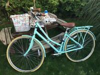 Ladies mint green Victoria Pendleton bike