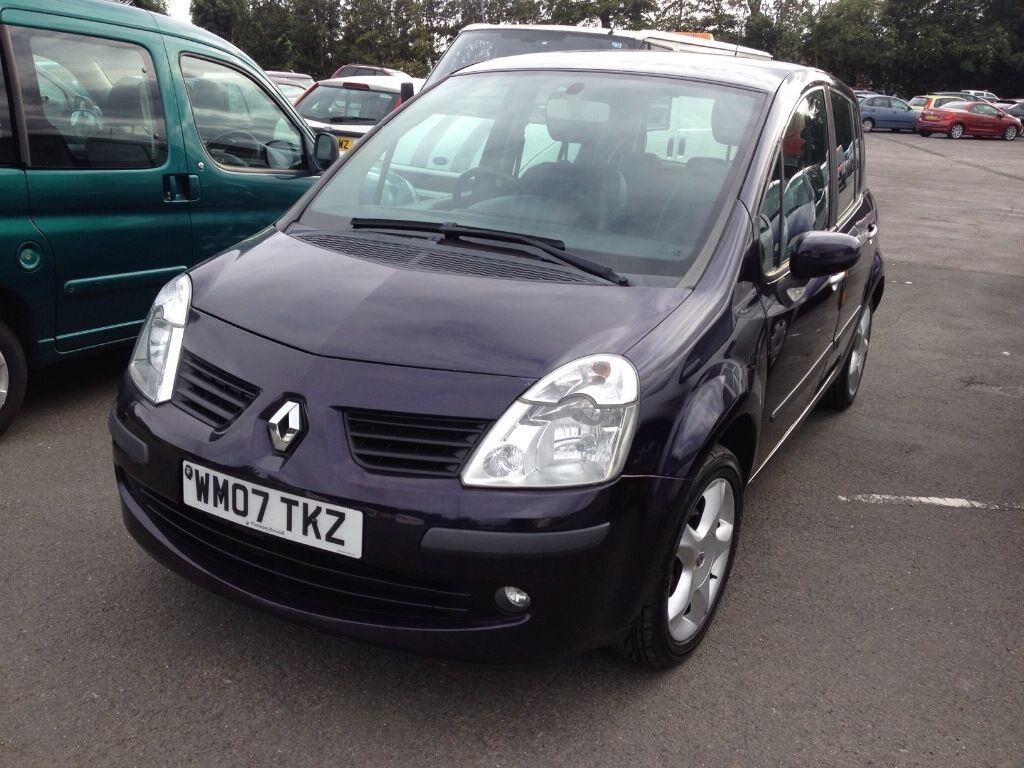 renault modus 1 5 dci 2007 in purple in plymouth devon gumtree. Black Bedroom Furniture Sets. Home Design Ideas