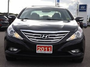 2011 Hyundai Sonata Limited | LEATHER | SUNROOF | ONLY 60K! Stratford Kitchener Area image 16