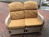 2 seater rattan furniture