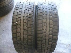 Two 195-65-15 snow tires  $50.00