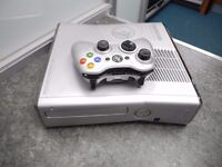 Xbox 360 250GB and with a game(Halo Reach)