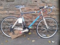 New British Eagle Advance Lightweight Steel Road Racing Bike -Disc Brakes - 56 cm RRP £299