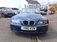 1999 BMW Z3 CONVERTIBLE BLUE