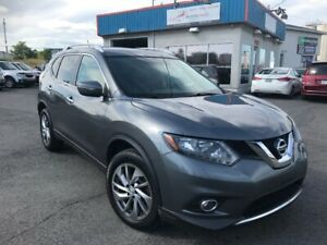 2014 Nissan Rogue SL AWD CUIR*TOIT*CAMERA*MAGS*FULL/BAS MILLAGE