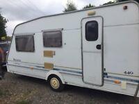 4 berth caravan very nice motor mover ideal diy or starter caravan cards excepted