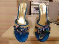 Ladies slip on wedge shoes