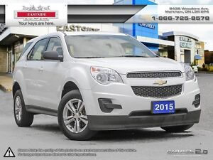 2015 Chevrolet Equinox WHEELS-BLUETOOTH-ONSTAR 4G LTE WI-FI