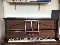 looking to get rid of piano for free. good condition. Needs to be collected