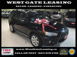 2011 Mitsubishi Outlander XLS | LEATHER | SUNROOF |