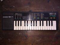 Casio SK1 vintage sampling synthesiser