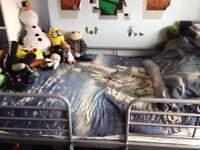 Mid sleeper storage bed