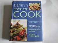 HAMLYN COMPLETE COOK - 1000 RECIPES, 50 TECHNIQUES, 400 INGREDIENTS EXPLAINED,606 PAGES - NEW