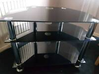 Chrome TV Stand