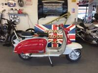At Hurricane Lambretta S1 Li150 1959