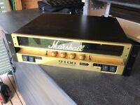 Marshall Monoblock 9100 50/50 Guitar ~ All Valve Power Amplifier
