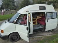 VW T4 Camper 1998 2.4 litre reliable and loved