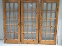 Pine Internal Glazed Doors