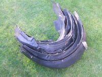mk2 golf front inner wheel liner trim x9