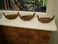 WADE Porcelain Viking Ship/Longboat Ornament/Posy Vase. for sale  Ketley, Shropshire