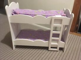 Dolls' bunk beds - in fantastic condition