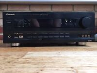 Pioneer VSX-808RDS 5.1 channel AV Receiver, 100W per stereo channel, DTS, Dolby, RRP £349.99
