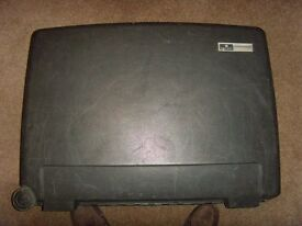 2 x Delsey Hard Body Suitcases