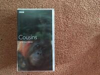 VHS tape Cousins Our primate relatives £1.50
