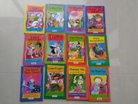 Collection of 30 Children Reading Books