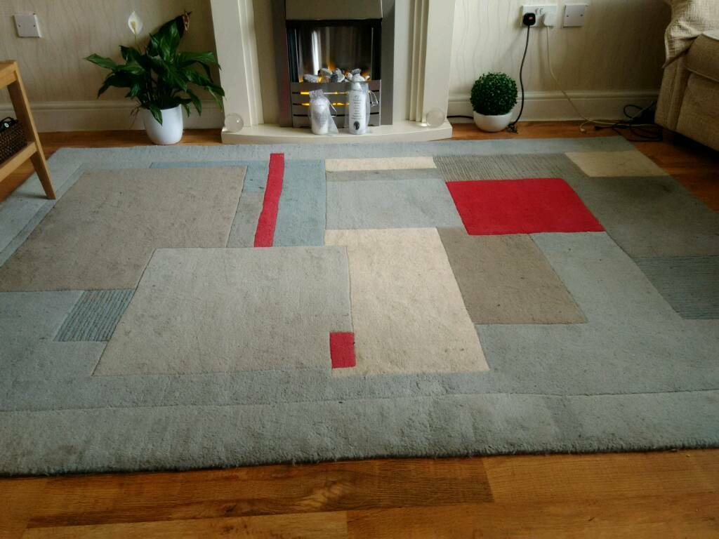 Marks And Spencer Conran 100 Wool Rug