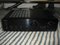 Onkyo A-9211 2x40W Stereo Amplifier with MM phono input, serviced